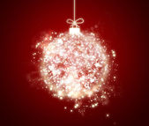 Shiny Christmas ball — Stock Photo