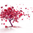 Stock Photo: Love Tree