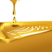 Dripping oil — Stock Photo