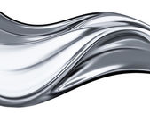 Chrome wave — Stock Photo