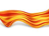 Fiery lines — Stock Photo
