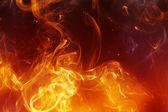 Brand achtergrond — Stockfoto