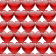 Red hearts — Stock Photo #38657891