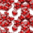 Red hearts — Stock Photo #38657901