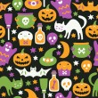 Halloween seamless pattern — Stock Vector #33220587