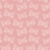 Butterfly seamless background — Stock Vector