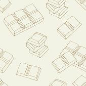Chocolate seamless pattern — Stock Vector