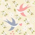 Wedding seamless pattern — Stock Vector