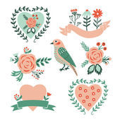 Valentine Day set. — Vector de stock