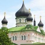 Russian orthodox church cupolas — Stock Photo #3342262