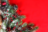 Christmas Holiday Background Wallpaper to Add Text — Stock Photo