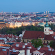 Twilight Prague — Stock fotografie