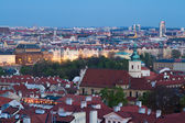 Twilight Prague — Stock Photo