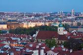 Twilight Prague — Stock Photo