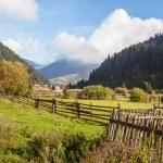 herfst in de Karpaten — Stockfoto