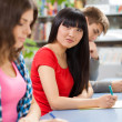 Group of students in a classroom — Stock Photo #14457951