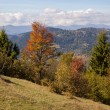 Autumn landscape in the Carpathian mountains — Stock fotografie