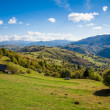 Autumn landscape in the Carpathian mountains — Foto de Stock