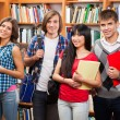 Group of happy students — Stock Photo #16969937