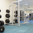 Interior of a modern gym — Stock Photo