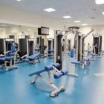 Interior of a modern gym — Stock Photo #18563319