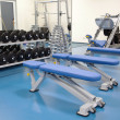 Stock Photo: Interior of a modern gym