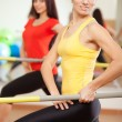 Group training in a fitness class — Stock Photo #19669109