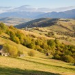 Carpathian mountains landscape - Stock Photo