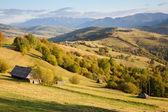 Carpathian mountains landscape — Stock Photo