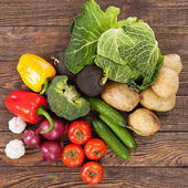 Vegetables assortment — Stok fotoğraf
