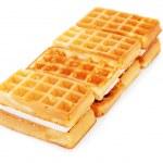 Tasty waffles — Stock Photo #20046941