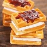 Tasty waffles — Stock Photo #20046951