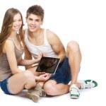Stylish young couple — Stock Photo #20046987