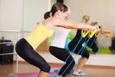 Group training in a fitness class — Foto de Stock