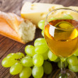 wine and grapes — Stock Photo #22733539