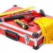 Construction toolkit - Foto Stock