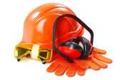 Industrial protective wear — Stock Photo