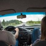 Car trip — Stock Photo