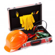 Construction toolkit - Stok fotoğraf