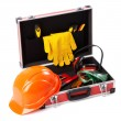 Construction toolkit - Stock Photo