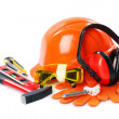 Industrial protective wear - Stockfoto