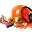 Industrial protective wear - Foto Stock