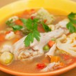 chicken soup&quot — Stock Photo #25126261