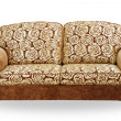 Sofa isolated on white background — Stock Photo