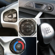Details of a car interior — Stock Photo