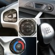 Foto Stock: Details of car interior