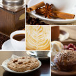 Set of coffee close-up photos — Stock Photo #31195947