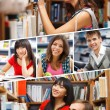 Foto Stock: Students lifestyle concept