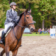 Stock Photo: Wroclaw, Poland: SEPT 29 - Horse trials in Wroclaw