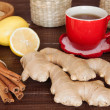 Ginger tea — Stock Photo #34410877
